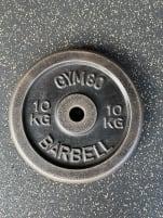 Barbell-Set gym80 2,5kg / 5kg /10kg - also possible separately