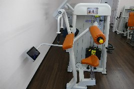 Triceps machine from ErgoFit 4100 S