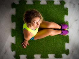 NPG Floor artificial grass puzzle