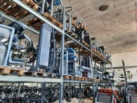 Technogym Selection Line größere Menge an Kraftgeräten zum Hammerpreis