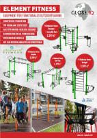 Mehrstationen Tower für funktionales Outdoortraining - TÜV Rheinland zertifiziert - RAL Rahmenfarbe möglich - Europäische Produktion
