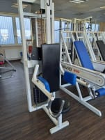 Shoulder side lift machine