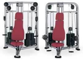 SALE !! Life Fitness Signature Cable Motion Brustpresse und Schulterpresse- gecheckt und gereinigt