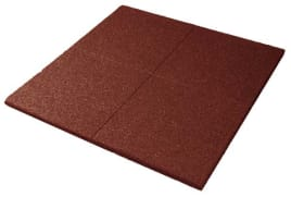 Rubber floor protection mats