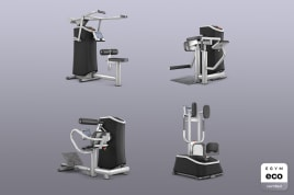 4x Smart Strength EGYM eco certified by the manufacturer incl. guarantees + value promise