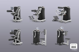 6x Smart Strength EGYM eco certified by the manufacturer incl. guarantees + value promise