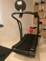 WOODWAY slat treadmill CURVE (TOP-condition, because of private use only)