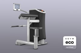 1x Bicep Curl (M15) Smart Strength EGYM eco certified by the manufacturer incl. guarantees + value promise