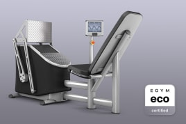1x Leg Press (M9) Smart Strength EGYM eco certified by the manufacturer incl. guarantees + value promise