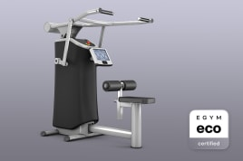 1x Lat Pulldown (M7) Smart Strength EGYM eco certified by the manufacturer incl. guarantees + value promise