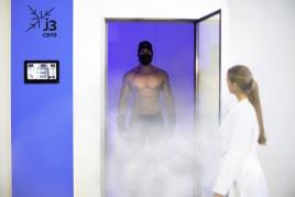 3J Technologie Innovator und Marktführer in der elektrischen Kryotherapie-Technologie.