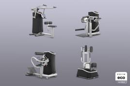 4x Smart Strength EGYM eco zertifiziert direkt vom Hersteller inkl. Garantien + Leistungsversprechen