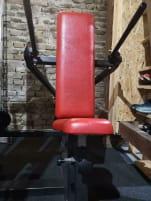 Dip machine, triceps, chest machine, no gym80