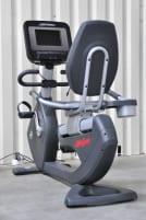 Life Fitness Discover Si Recumbent Bike 95R/ Generalüberholt in Wunschfarbe/ Display Neu/ Alle Verschleissteile Neu/ Neueste Softwaregeneration SE3