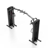 Marbo Sport Professional MP-U204 Cable Crossover /Kabelzugmaschine /Seilzug /Zugturm mit höhenverstellbaren Laufrollen