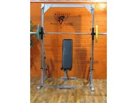 Used L+K smith machine linear Power Line - Plate loaded 50mm