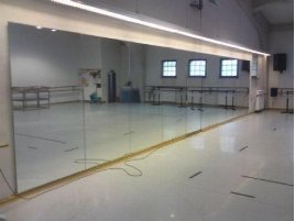 Mirror Wall   Mirrors for Gym   Training Room