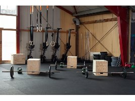 Bodenschutzmatte | Gummimatten | Fitnessboden | Gummiboden | Fallschutzplatten | 4-100mm | auf Rolle oder Platten | schwer entflammbar Cfl-s1 |
