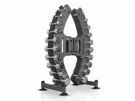 Marbo Sport Professional MP-S206 Barbell Set Rack Strength Training