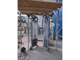 Life Fitness Dual Adjustable Pulley! TOP!