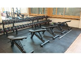 Rubber floor - protection mats - rubber mats - free weight floor