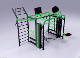 NPG C1 Cross-Training Turm Cage ***NEU*** Functional Training FUNCTIONAL RACK  (Transport+Montage möglich)