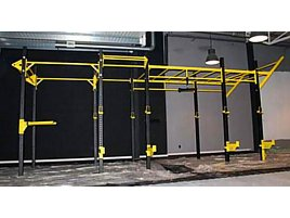 **NEU* NPG Funktional Training Gerüst ck. **8m lang!!! 2m breit**   Functional Rack, Functional Cage  Cross-Training  (Transport+Montage möglich)