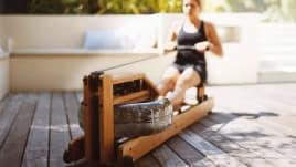 WaterRower Rowing Machine - cherrywood