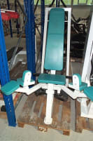Adductor Machine, Competition Line, 75kg weight stack, white, used