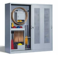 C+P equipment cupboard, used