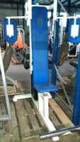 Gym 80 Butterfly, weiß, blaues Polster, gebraucht