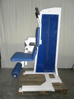 Jimsa Abdominal Machine, Fitline, foldable, white, used