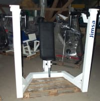 Jimsa Shoulder Press   Plate loaded, bilateral