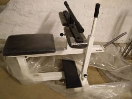 Jimsa Calf Machine, Proline, sitting, white, NEW, original packaging