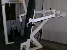 Kaphingst See Saw Shoulder Press, white, used