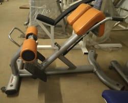 Life Fitness Hyperextension   Rückenstrecker, Silber, gebraucht
