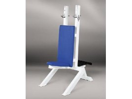 Neck and Incline Bench Press, adjustable, white, used