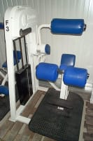 Nautilus Abdominal Machine, white, used