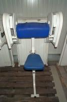 Nautilus Biceps Machine, white, used