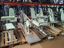 SDH Circuit (identically constructed like Calory Coach) 9 machines, frame white grey, used