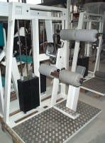 Sportesse Hyperextensionsmaschine   Rückenstrecker, Weiß, gebraucht