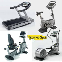 TechnoGym Excite Line 500   700 Cardio Equipment Package, 4 machines, used