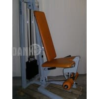 Gym 80 Leg Extension and Leg Curl, silver grey, used, 2 machines 1 price