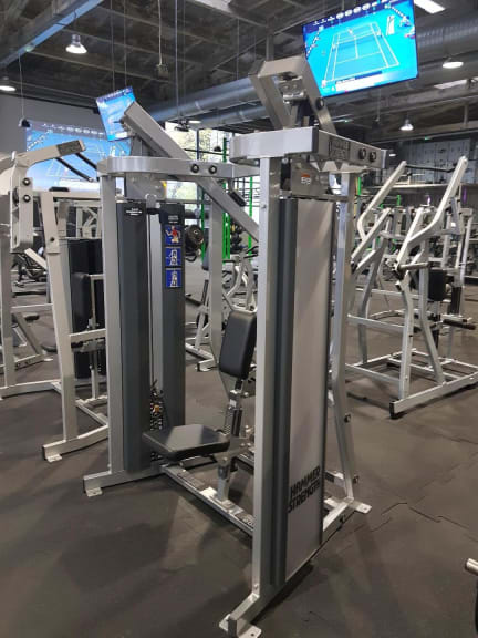 Ad - Hammer Strength MTS Row - Top Condition - Transport