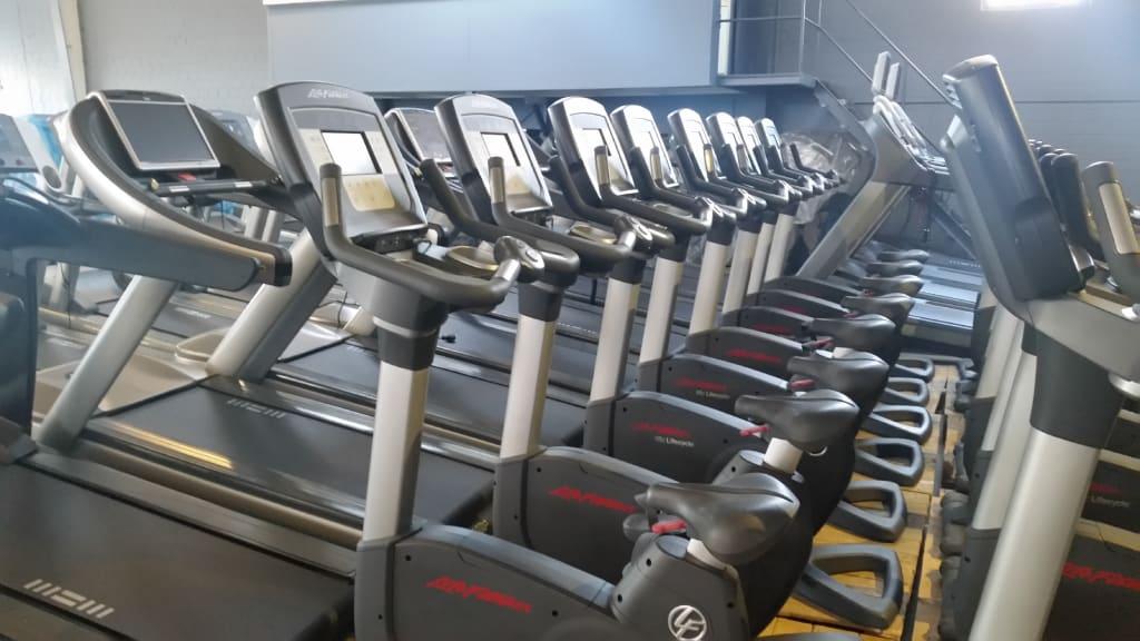 Ad - Life Fitness Upright Ergometer 95c Inspire Elevation