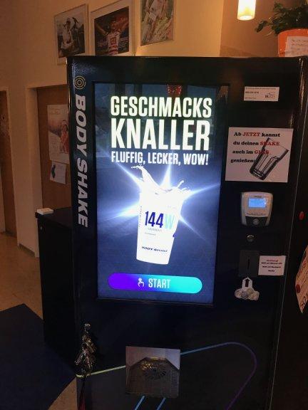 Inserat - Bodyshake Eiweiss Automat
