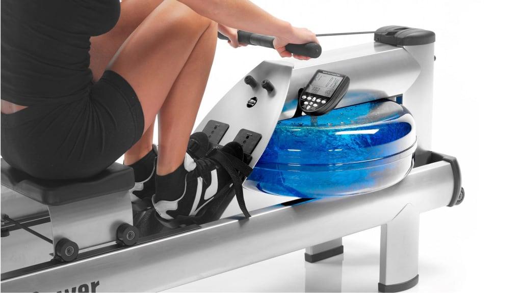 Ad - WaterRower M1 Rowing Machine - HiRise